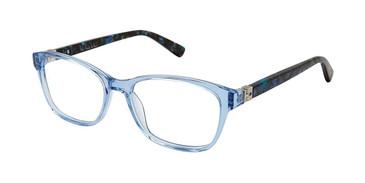 Blue Tortoise Nicole Miller Cleo Tween Niki Eyeglasses.