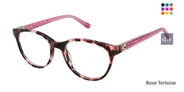 Rose Tortoise Nicole Miller Finley Tween Niki Nicole Miller Eyeglasses -Teenager.