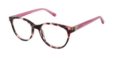 Rose Tortoise Nicole Miller Finley Tween Niki Eyeglasses -Teenager.