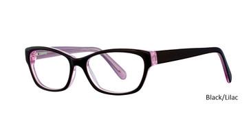 Black/Lilac Vivid 805 Eyeglasses