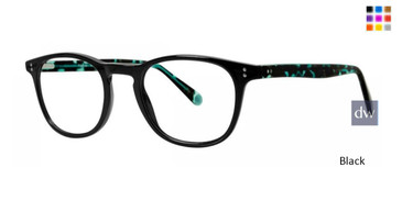 Black Timex Rx 4:19 Pm Eyeglasses - Teenager