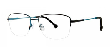 Black Timex Rx 4:49 PM Eyeglasses