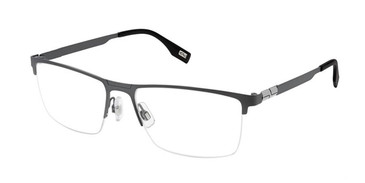 Black Evatik 9194 Eyeglasses.
