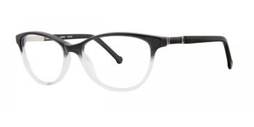 Black Gradient Timex Rx 9:18 AM Eyeglasses