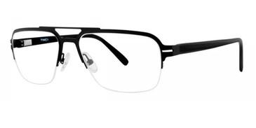 Black Timex Rx 2:07 PM Eyeglasses