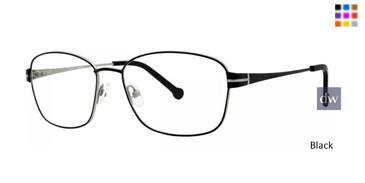 Black Timex Rx 9:39 AM Eyeglasses