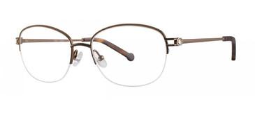 Brown Timex Rx 7:29 AM Eyeglasses