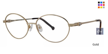 Gold Timex Rx 9:41 AM Eyeglasses