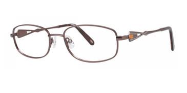 Brown Timex Rx T502 Eyeglasses