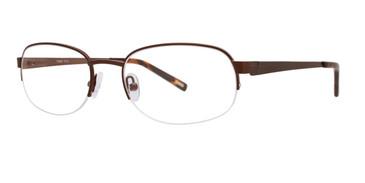 Brown Timex Rx T274 Eyeglasses