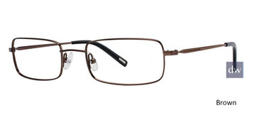 Brown Timex Stretch X019 Eyeglasses
