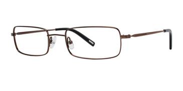 Brown Timex Stretch X019 Eyeglasses