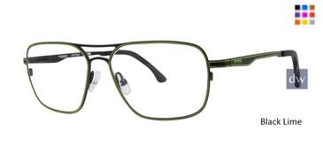 Black Lime Timex TMX RX One Two Eyeglasses