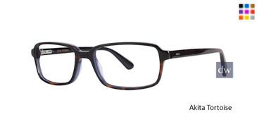 Akita Tortoise Zac Posen Milo Eyeglasses.
