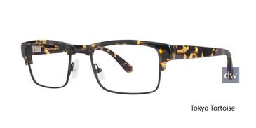 Tokyo Tortoise Zac Posen Lead Eyeglasses.