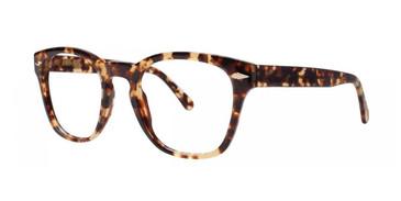 Edo Tortoise Zac Posen Christophe Eyeglasses.