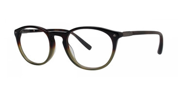 Forest Tortoise Gradient Zac Posen Erudite Eyeglasses - Teenager.