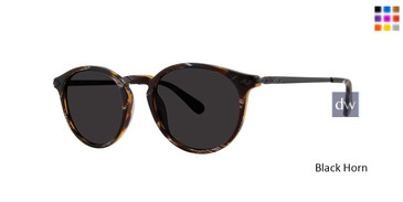 Black Horn Zac Posen Jean Paul Sunglasses.