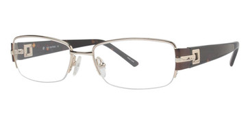 Gold/Tortoise Vivid Boutique 5012 Eyeglasses.