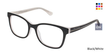 Black/White Ann Taylor AT323 Eyeglasses.