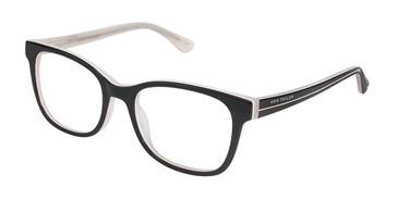 Black/White Ann Taylor AT323 Eyeglasses.