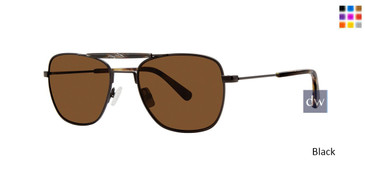 Black Zac Posen Brock Sunglasses.