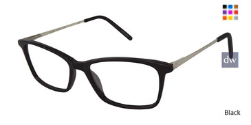 Black Ann Taylor AT327 Eyeglasses.