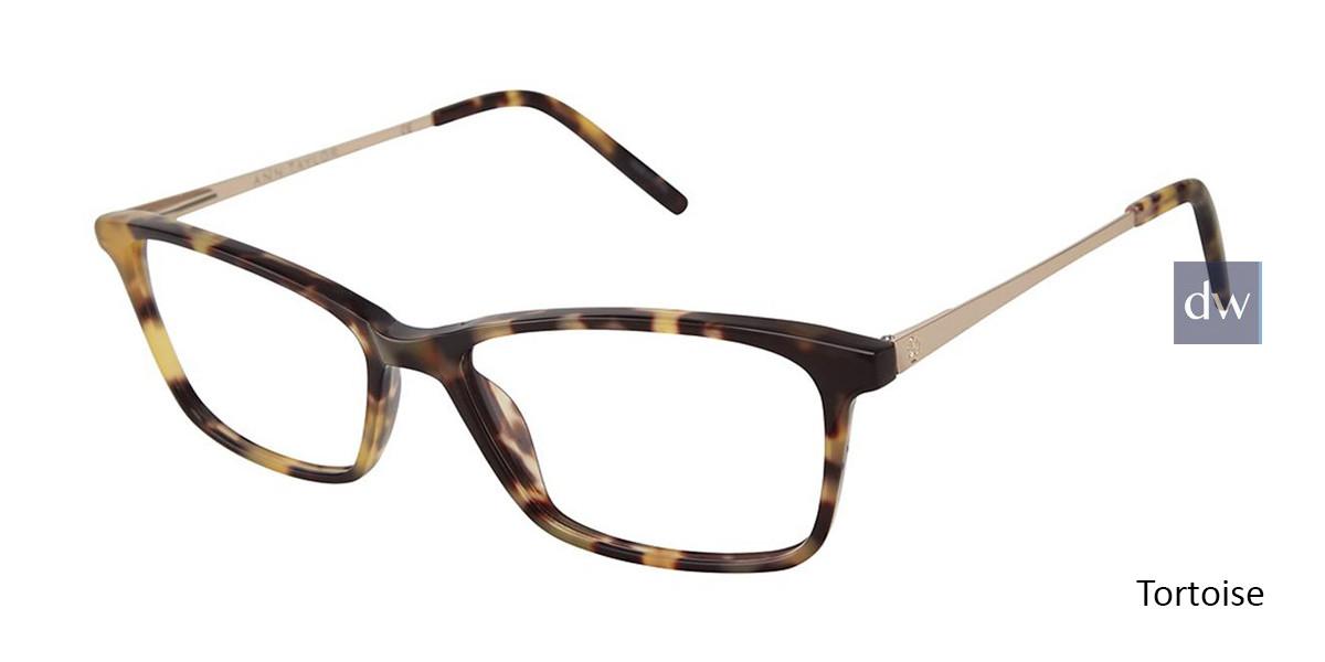 Tortoise Ann Taylor AT327 Eyeglasses.