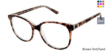 Brown Tort/Sand Ann Taylor AT328 Eyeglasses.