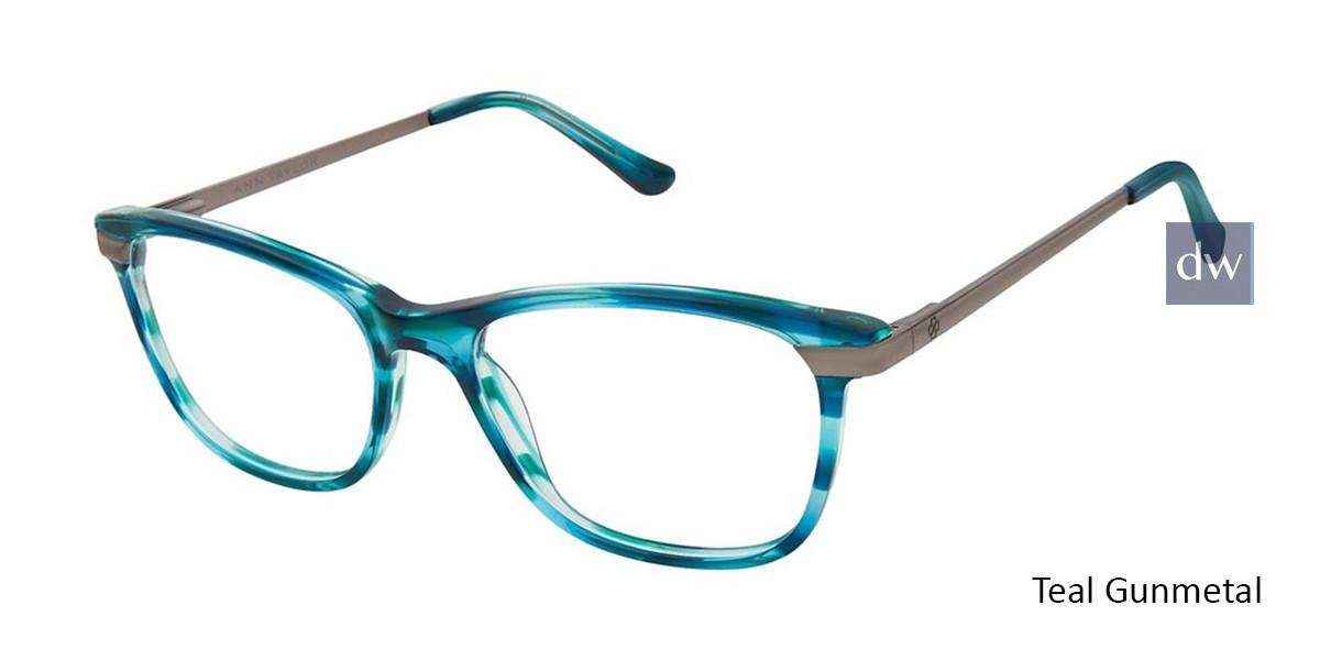 Teal Gunmetal Ann Taylor AT332 Eyeglasses.