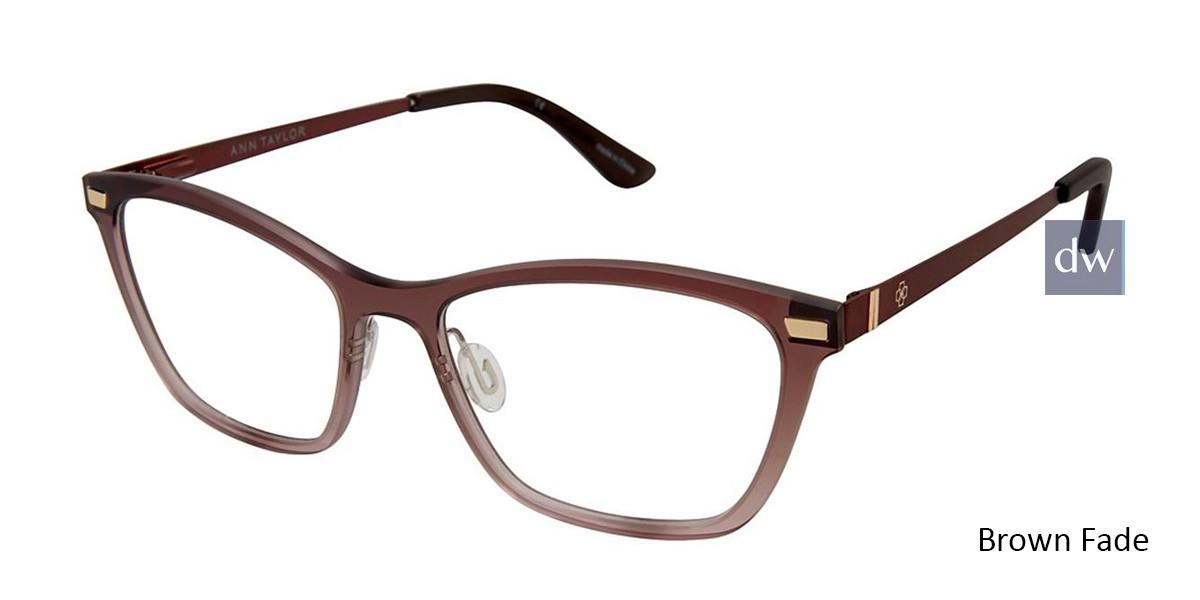 Brown Fade Ann Taylor AT407 Eyeglasses.