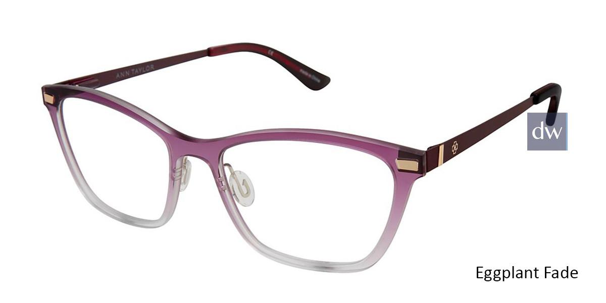 Eggplant Fade Ann Taylor AT407 Eyeglasses.