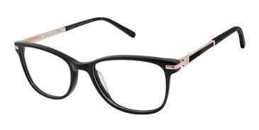 Black Ann Taylor ATP011 Luxury Petite Eyeglasses - Teenager.