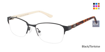 Black/Tortoise Ann Taylor ATP701 Petite Eyeglasses - Teenager.