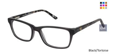 Black/Tortoise Ann Taylor ATP807 Petite Eyeglasses - Teenager.