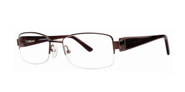 Brown Vivid Expressions 1104 Eyeglasses
