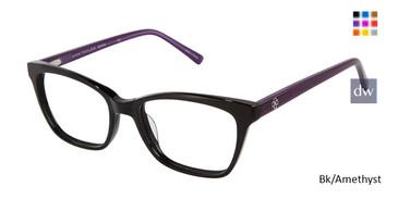 Bl/Amethyst Ann Taylor ATP814 Petite Eyeglasses.