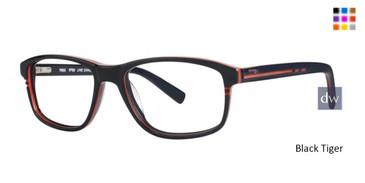 Black Tiger Timex TMX RX Line Change Eyeglasses
