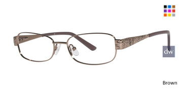 Brown C By L'Amy 517 Eyeglasses.