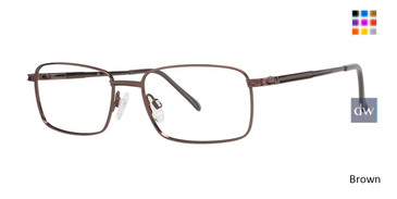 Brown C By L'Amy 600 Eyeglasses.