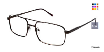 Brown C By L'Amy 614 Eyeglasses.