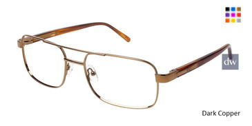 Dark Copper C By L'Amy 616 Eyeglasses.
