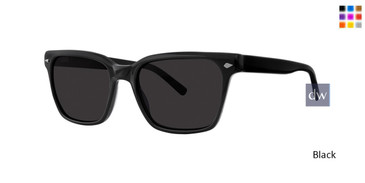 Black Zac Posen Classon Sunglasses.