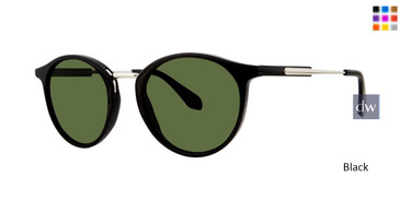 Black Zac Posen Lenihan Sunglasses.