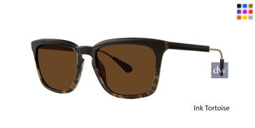 Ink Tortoise Zac Posen Milwood Sunglasses.