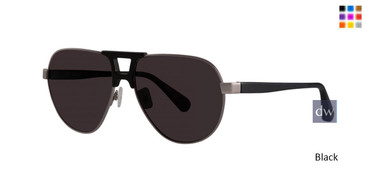 Black Zac Posen Arroh Sunglasses.