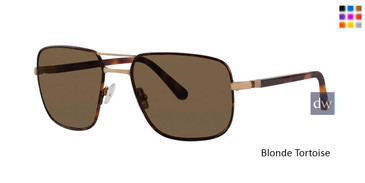 Blonde Tortoise Zac Posen Clement Sunglasses.
