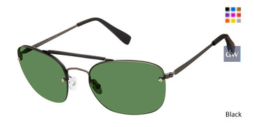 Black Canali 200 Polarized Sunglasses.