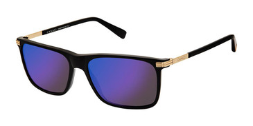 C01 Black Canali 202 Polarized Sunglasses.