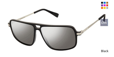 Black Canali 203 Polarized Sunglasses.